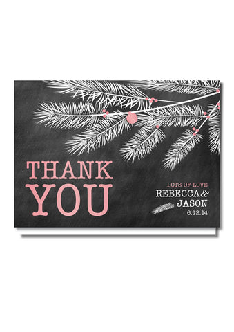 Beneath The Trees Thank You Card