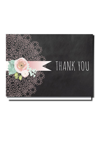 Doily Delight Thank You Card
