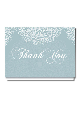 Doily Design Thank You Card