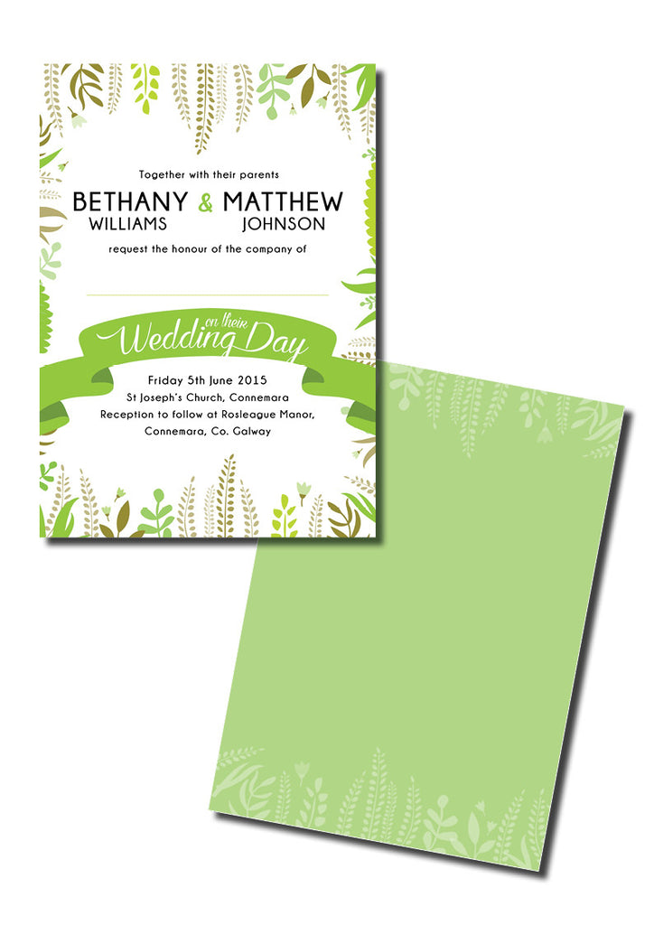 Design Our Day Wedding Stationery - Love is in the Air