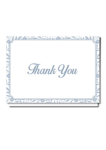 Floral Classic Thank You Card