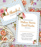 Do The Polka Wedding Invitation
