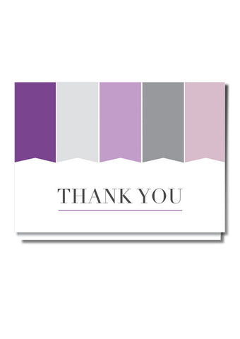 Monogram Thank You Card