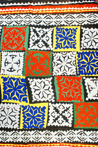 Gujarat Appliqué Quilt - India - The Loaded Trunk
