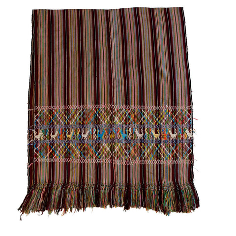 Maya Woman's Rebozo No. 3 - The Loaded Trunk