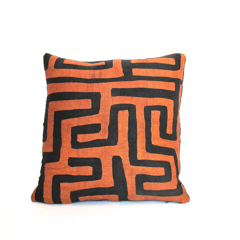 Appliqué Kuba Cloth Pillow No. 11 - The Loaded Trunk