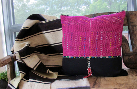 Ethnic Hmong Tribal Pillow No. 9 - The Loaded Trunk