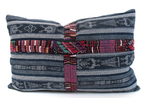 Guatemalan Corte Lumbar Pillow No. 2 - The Loaded Trunk