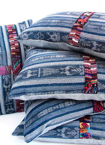 Guatemalan Corte Lumbar Pillow No. 1 - The Loaded Trunk