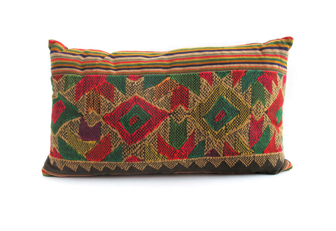 Laos Skirt Pillow No. 2 - The Loaded Trunk