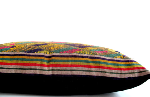 Vintage Laos Skirt Pillow No. 1 - The Loaded Trunk