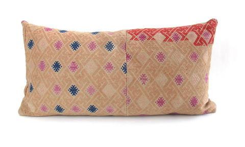 Hmong Woven Tribal Pillow No. 11 - The Loaded Trunk