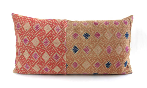 Hmong Woven Tribal Pillow No. 9 - The Loaded Trunk