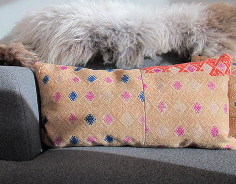 Hmong Woven Tribal Pillow No. 10 - The Loaded Trunk