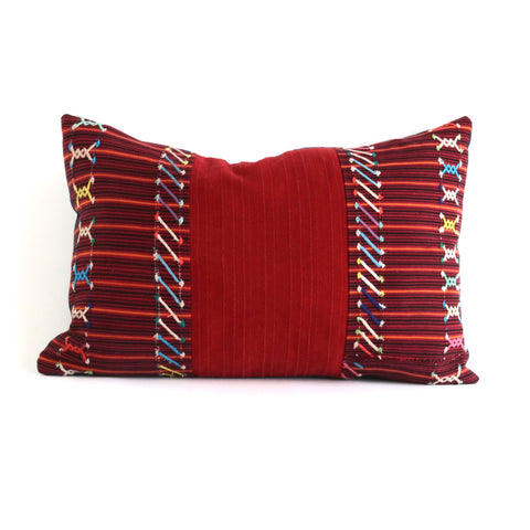 Guatemalan Textile  Pillow No. 2 - The Loaded Trunk