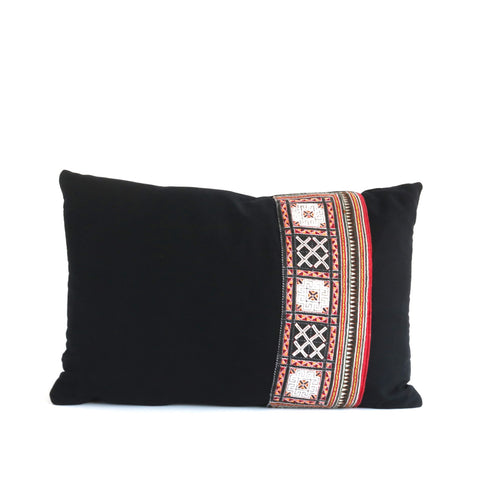 Vintage Tribal Textile Pillow No. 3 - The Loaded Trunk