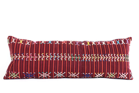 Guatemalan Textile  Pillow No. 1 - The Loaded Trunk