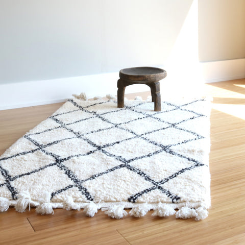 Beni Ourain Rug - Diamonds - The Loaded Trunk