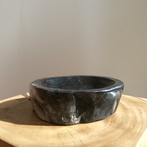 Petrified Wood Serving Bowl - The Loaded Trunk