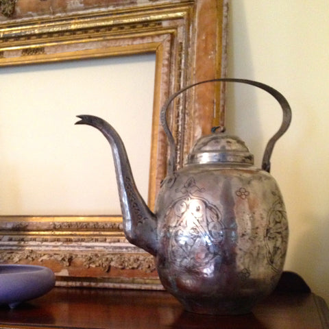 Tinned Copper Teapot No. 2 - The Loaded Trunk