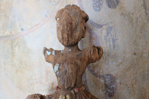 Rustic Burmese Statue No. 3 - The Loaded Trunk