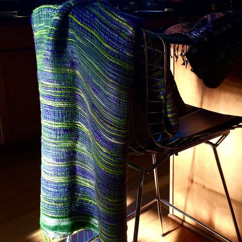 Thai Silk Ikat Wrap No. 5 - The Loaded Trunk
