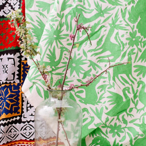 Mexican Otomi Coverlet No. 1 - The Loaded Trunk