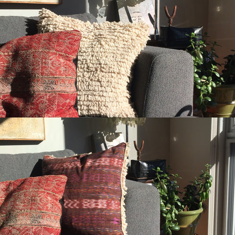 Wool Mayan Inspired Pillow - The Loaded Trunk