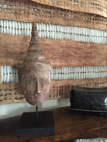 Burmese Puppet Head No. 25 - The Loaded Trunk