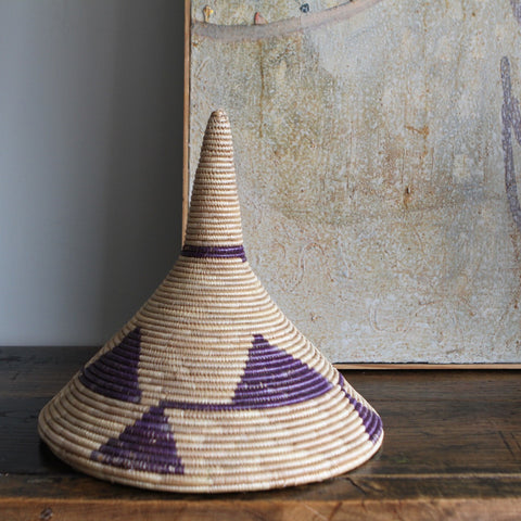 Rwandese Conical Basket No. 1 - The Loaded Trunk