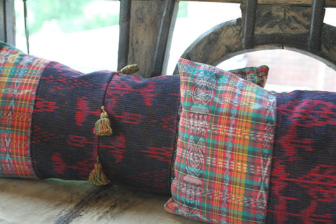 Guatemalan Pom Pillow - The Loaded Trunk
