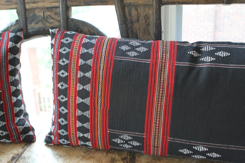 Beaded Zeng Cloth Pillow - The Loaded Trunk
