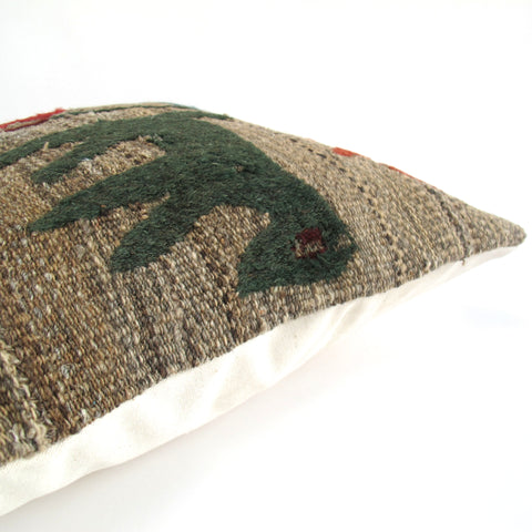 Turkish Cicim Kilim Pillow No. 1 - The Loaded Trunk
