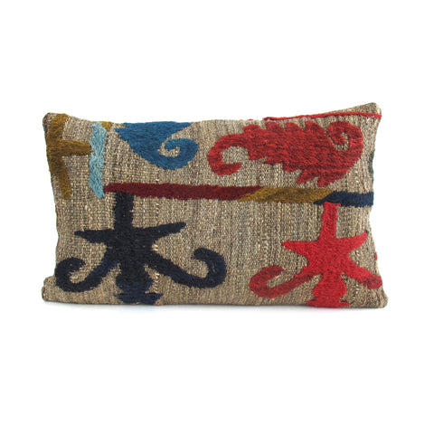 Medallion Kilim Pillow No. 5 - The Loaded Trunk
