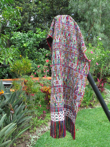 Maya Woman's Shawl No. 5 - The Loaded Trunk