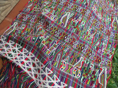 Maya Woman's Shawl No. 3 - The Loaded Trunk