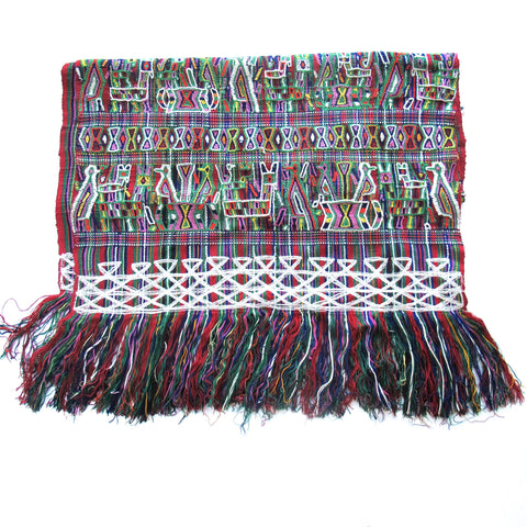 Maya Woman's Shawl No. 6 - The Loaded Trunk
