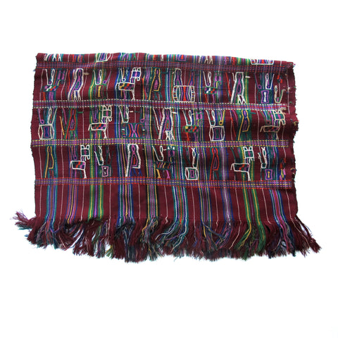 Maya Woman's Shawl No. 7 - The Loaded Trunk
