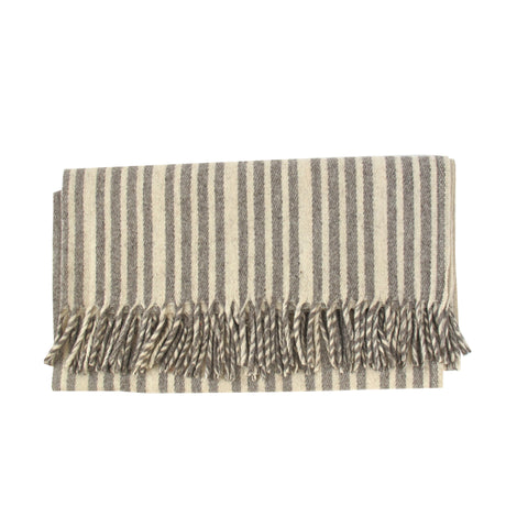 Striped Wool Throw No. 1 - The Loaded Trunk