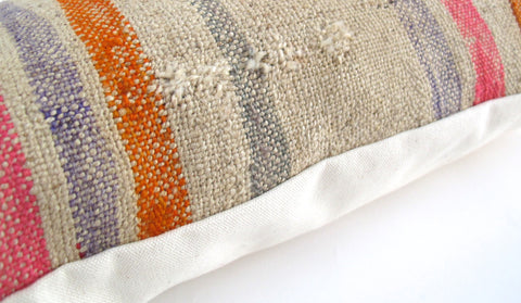 Stripe Kilim Pillow No. 11 - The Loaded Trunk