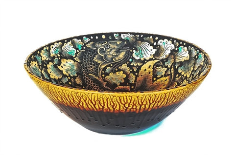 Koi Ceramic Bowl - The Loaded Trunk