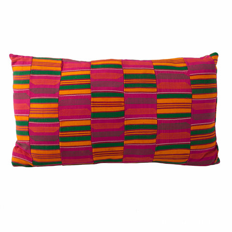 Kente Cloth Pillow No. 1 - The Loaded Trunk