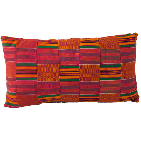 Kente Cloth Pillow No. 2 - The Loaded Trunk