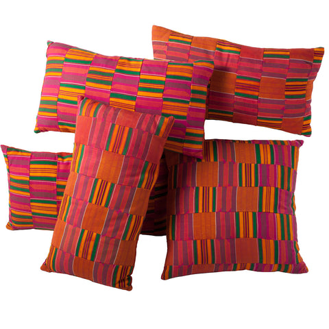 Kente Cloth Pillow No. 3 - The Loaded Trunk