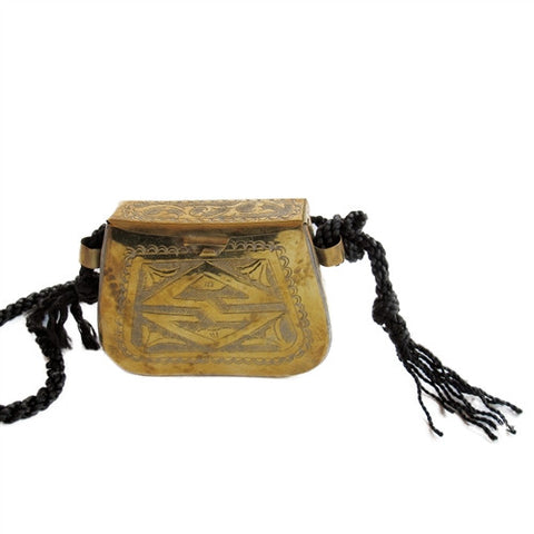 Vintage Moroccan Clutch No. 1 - The Loaded Trunk