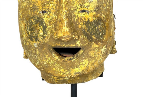 Burmese Puppet Head No. 12 - The Loaded Trunk