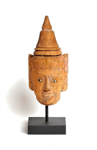 Burmese Puppet Head No. 17 - The Loaded Trunk