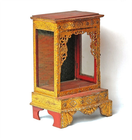 Old Buddhist Shrine - The Loaded Trunk