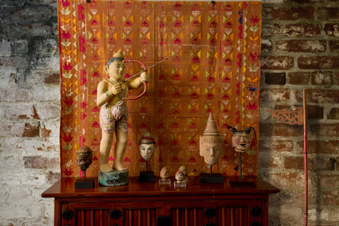 Burmese Puppet Head No. 15 - The Loaded Trunk