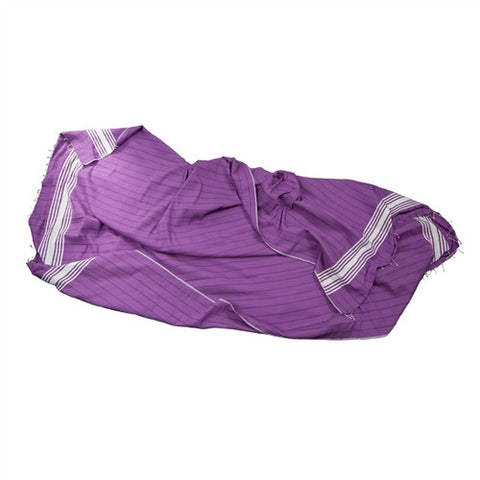 Striped Turkish Throw - Purple - The Loaded Trunk